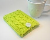 Kindle Fire case / Kindle Keyboard cover / Kindle Fire HD case in Lime Green