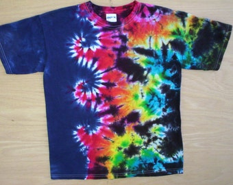 Tie Dye Wave of Color Size Large