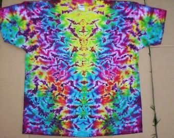 2XL Rainbow Falls Tie Dye Plus Size
