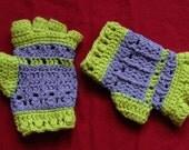 SALE Frilly Punk Half-Finger Gloves
