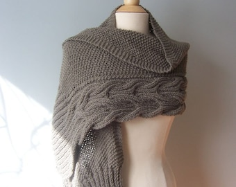Aspen Wrap Knitting Pattern- Wedding Shawl- Shawl Knitting Pattern- Knitting Pattern for Shawl-  Women's Wrap- Women's Shawl Pattern