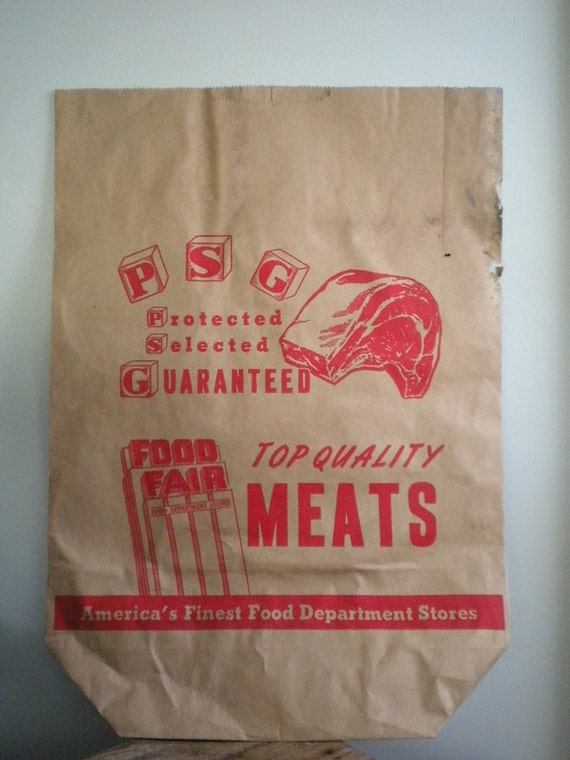 Vintage Shopping Bags