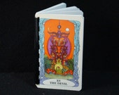 The Devil/Ten of Swords-Tarot card journal