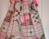 Custom Cute John Deere Pillowcase dress (any size 12M-5T)