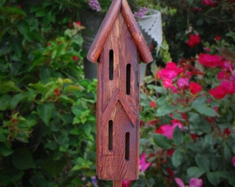 Rustic Butterfly House, Butterfly Houses, Featured in Our State Magazine (NC) April issue