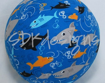 Balloon Ball - Sharks in the Ocean - great Gift Toy as seen on parenting.com