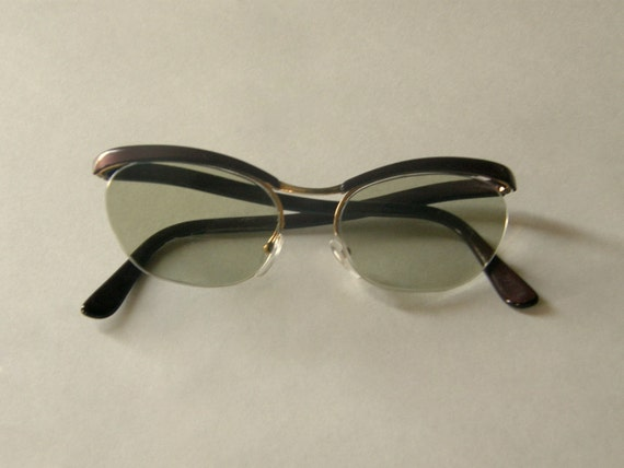Retro Fab Cat Eye Glasses by Nylor France - Mid Century French Eyewear - Free Shipping in US