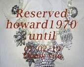 Sparkles of the Past Vintage Statement Necklace