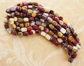 "Semi Precious Beads, 20mm Mookaite, 16"" strand, nuggets"