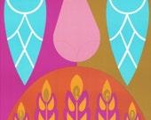 Giclee Print of 1969 Original Vintage Zodiac Poster - Virgo