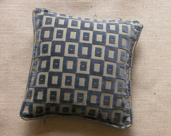Crafted with love. Velvet mini scatter cushion made
