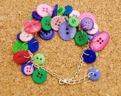 Toytown Button Charm Bracelet