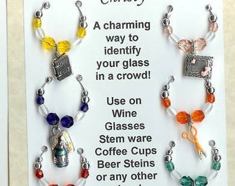 Scrapbooking Scrap Booking Wine Charms