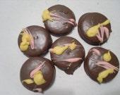 A Half Dozen Chocolate Covered Golden Oreos