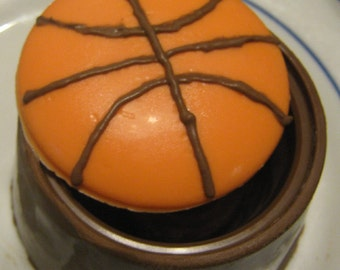 Solid Chocolate Sport ball fillable boxes 4 designs