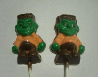 A dozen Halloween Monster pops