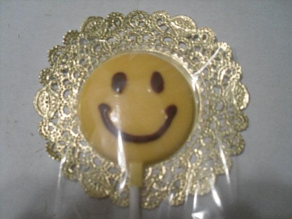 Smiley Face Lollipop