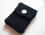 Dark Blue IPod Nano Cozy