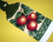 Juicy Red Apples Kitchen Towel