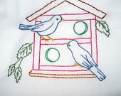 A Two Story Bird House