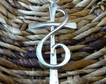 Large Alleluia Cross Pendant