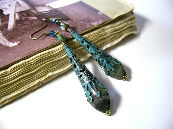 Rustic Romance Dangle Earrings