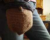 SALE Acorn Purse Acorn Bag Crochet Ball bag as well Order Today Get a Free Gift