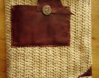Tablet Case,soft felt interior, ear bud pocket. Uni