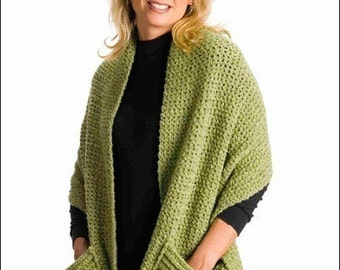 PDF Crochet Pattern- Quick and Easy Crocheted Readers