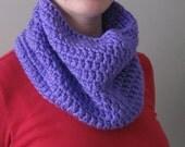 SALE fashion meet function light purple cowl