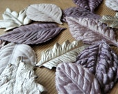 Silver and Grey Prima Leaves Set