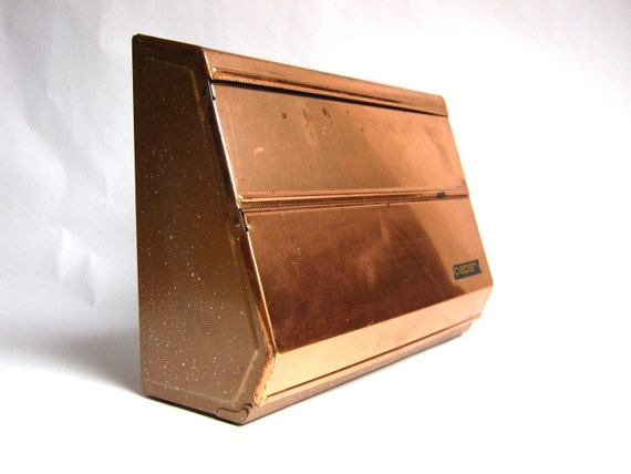 vintage copper paper towel dispenser for your kitchen. Black Bedroom Furniture Sets. Home Design Ideas