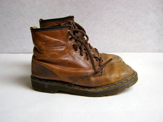 vintage distressed and worn in Doc Martens boots