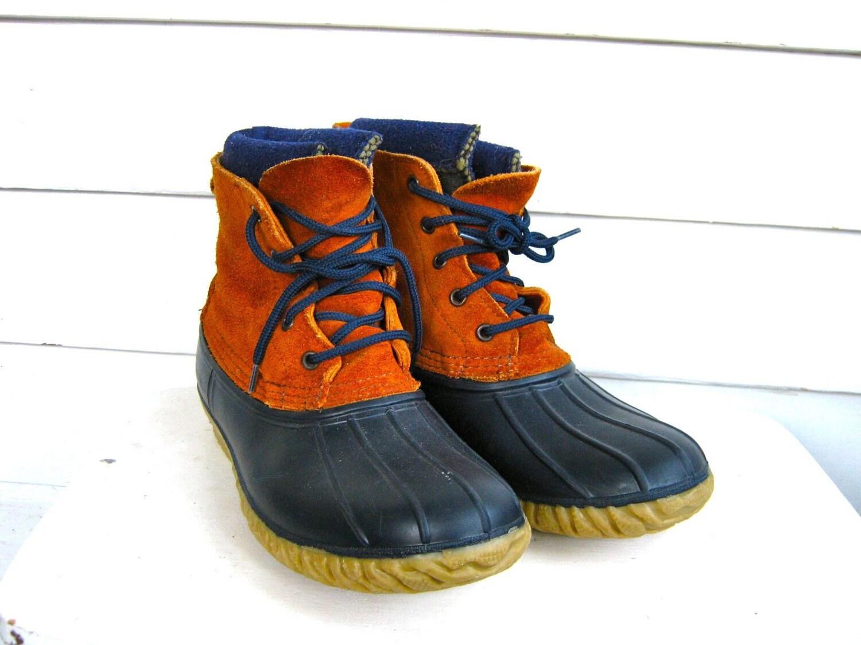 Vintage Lacrosse Duck Boots Mens Size 7 M Womens 9 M