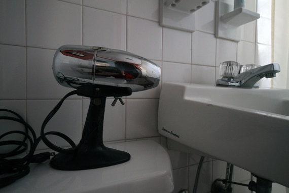 Vintage 1950s Oster Brand Airjet Chrome Hair Dryer
