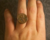 The Rita Ring - Lucky Penny Sterling Plated Ring
