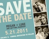 Photo Booth Save The Date - many colors available