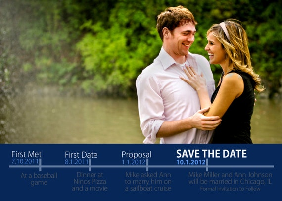 Items Similar To Timeline Save The Date