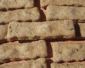Organic Dog Treats - Zucchini Fries- - All Natural Organic Dog Treats Vegetarian -  Shorty's Gourmet Treats