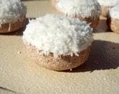 Organic Dog Treats - Snowballs - All Natural Dog Treats Organic Vegetarian - Shorty's Gourmet Treats