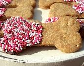 Valentine Bones - Organic Dog Treats All Natural Vegetarian - Shorty's Gourmet Treats