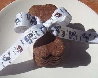 Organic Dog Treats - Large Cinnabones - All Natural Dog Treats Organic Vegetarian -  Shorty's Gourmet Treats