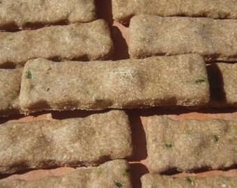 Organic Dog Treats - Zucchini Fries- - All Natural Organic Dog Treats Vegetarian -  Shorty's Gourmet Treats