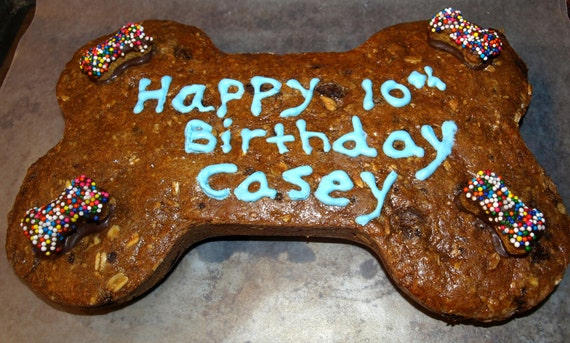 Gourmet Dog Treats Happy Birthday Cookie Cake All Natural