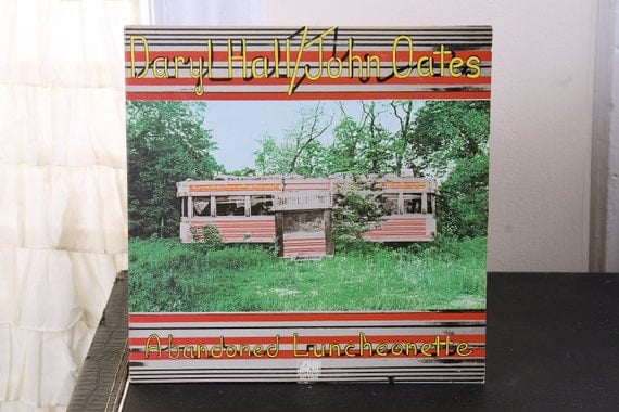 Hall & Oates - Abandoned Luncheonette 1973 LP Vintage Vinyl Record