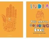 Matta Indian Coloring Book