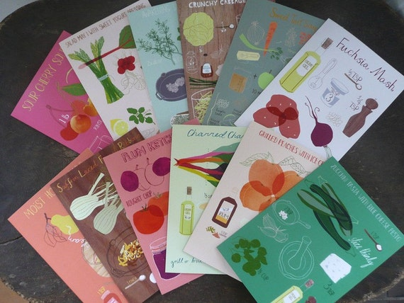 Recipe Greeting Card Set