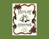 String Art Christmas Pattern Book  2, 10 patterns in PDF - DIGITAL DOWNLOAD
