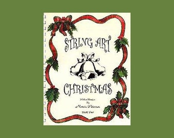 String Art Christmas Pattern Book  2, 10 patterns in PDF - DIGITAL DOWNLOAD