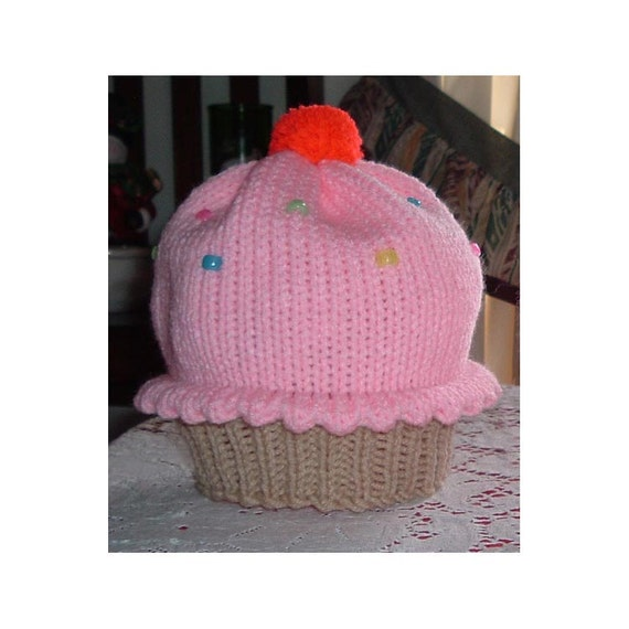 Medium Cupcake Hat size 5 to 10 year old